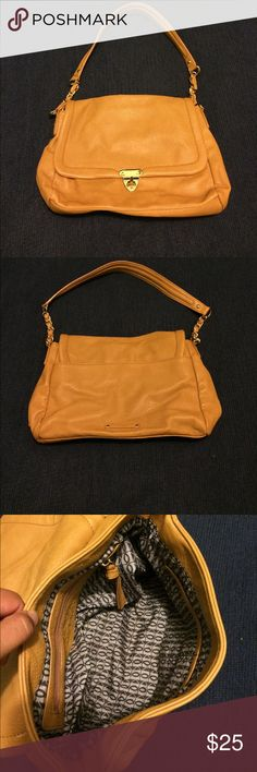 Kelsi Dagger purse Cute purse for on the go. Good condition, but a little wear on the front and back, and a few scratches on the gold buckle Kelsi Dagger Bags Shoulder Bags