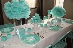 I have been waiting forever to post these photos and I just can't wait to finally show you! I worked a long time on this bridal shower to ma...