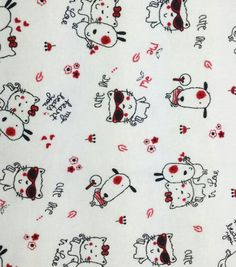 Snuggle Flannel Fabric Cute Like Me