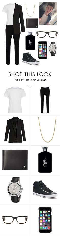 """""""Jack"""" by rainbowsuperunicornchicken ❤ liked on Polyvore featuring La Perla, Paolo Pecora, Givenchy, John Hardy, Victorinox Swiss Army, Ralph Lauren, Gucci, Converse, Tom Ford and County Of Milan"""