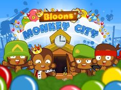 Bloons Monkey City mod apk game free download for android Bloons Monkey City hack Bloons