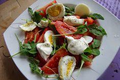 Caprese Salad, Fruit Salad, Minami, Food, Fruit Salads, Essen, Meals, Yemek, Insalata Caprese