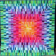 Quilt by Marzena Krzewicka (Poland). Mananko: Na dobry początek