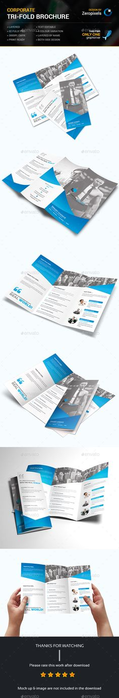 Trifold Brochure Template PSD. Download here: http://graphicriver.net/item/trifold-brochure/15223878?ref=ksioks