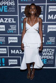 Wardrobe Breakdown: Issa Rae On Watch What Happens Live