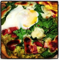 "Breakfast ""Pizza"" #littlecookinthebigcity"