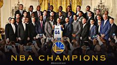 2015 World Champion Golden State Warriors at the White House.