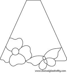 lampshade stained glass pattern