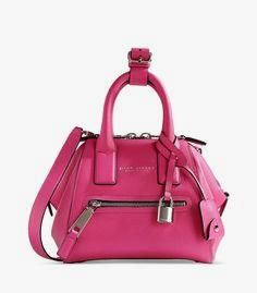 Marc Jacobs Small Pi     Marc Jacobs Small Pink Leather Bag