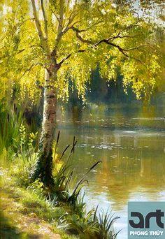 <h3>Tranh phong cảnh 30, tranh phong cảnh châu âu có tính chất mỹ thuật và trang trí cao giúp làm đẹp không gian ngôi nhà của bạn</h3>