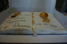 Vangelo pdz torta Prima Comunione calice