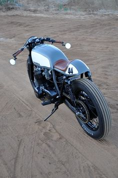 The image in my head of an ideal cafe racer