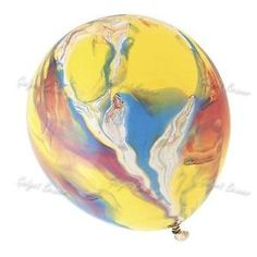 60 x Marble Party Balloons Paint Latex Rainbow Swirl Funky Birthday Effect – Big And Round Baloons for Christmas, Party, Wedding, Valentine with Festive Colours- Holiday Toys for Kids/ Childrens – Bulk Buy Marble Balloons, Latex Balloons, Balloon Ribbon, Balloon Painting, Rainbow Balloons, Natural Latex, Rainbow Swirl, Pumps, Biodegradable Products