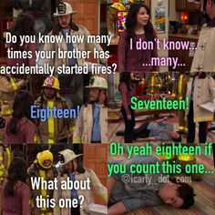iCarly omg this show is my life Funny Quotes, Funny Memes, Hilarious, Icarly And Victorious, The Thundermans, Zack E Cody, Nickelodeon Shows, Comedy, Old Disney