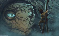 The Neverending Story-Atreyu finds Morla by *HeavyMetalHanzo on deviantART