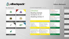 eBackpack // Assign, Collect, Review, Annotate, and Return student work easily with eBackpack. Supports Offline Access to your assignments! Integrates with your calendar. Now with multimedia PDF, layered PDF, annotation edit, voice, and video capabilities