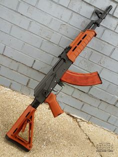 Magpul AK Furniture on an AK SBR