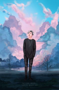 iezz-art.tumblr.com    BTS Rap Monster    Bangtan Boys Kim Namjoon