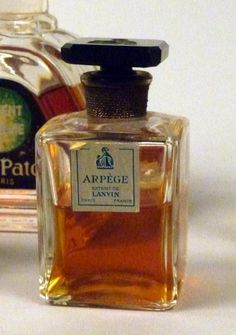 Vintage French Perfume Bottles :