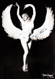 Helen Harriet Beck aka Sally Rand (April 3, 1904 – August 31, 1979) was a burlesque dancer and actress, most noted for her ostrich feather fan