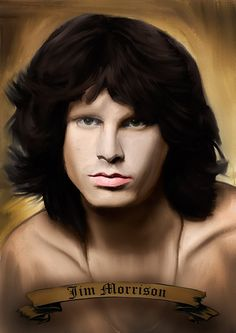 Print Jim Morrison music paint poster  Birthday Gift by Artistico, $34.00