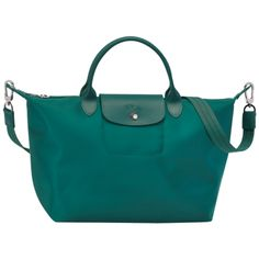 Longchamp Le Pliage N��o in Emerald Green
