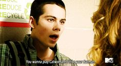 """Even though he doesn't have any powers, he's totally into role-playing.   31 Reasons Why Stiles Is The Hottest Part Of """"Teen Wolf"""""""