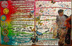 Inspiration Everywhere: Finished Journal Page and another Cocoa Daisy Challenge...