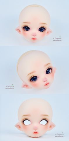 Fairyland Pukifee PFA event 2016 plate - Nomyens cosmetic dolls