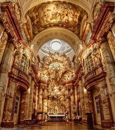 St. Charles Church, Vienna...stunning architecture!
