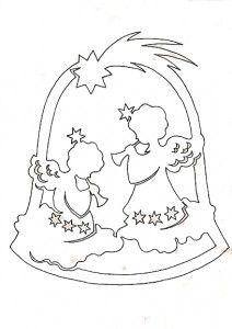колокольчик с ангелами