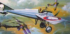 Morane Saulnier N by Brian Knight