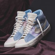 the best attitude a3723 78f38 NIKE BLAZER ROYAL EASTER QS WHITE BLUE PINK EASTER EGG AO2368 600