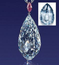 The largest flawless briolette diamond ever to appear at auction set a new record last night when an anonymous bidder paid $11.1 million at Christie's Hong Kong, Reuters reported. The 75.36-carat, D-color gem narrowly edged out the previous record holder — a 10.48-carat fancy deep-blue briolette diamond that sold at rival Sotheby's for $10.8 million this past November. http://luisagraffjewelers.thejewelerblog.com/