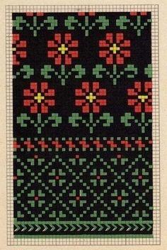 Knitting Charts, Loom Knitting, Knitting Socks, Hand Knitting, Knitting Patterns, Fair Isle Knitting, Mittens Pattern, Rugs, Necklaces