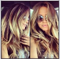 Hair Crush! I seriously love anything Khloe Kardashian does and her hair is phenomenal
