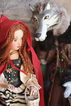 ❥ Little Red Riding Hood & Big Bad Wolf