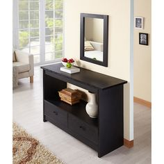 Enitial Lab Black Caliper Sofa/ Console Table   Overstock.com