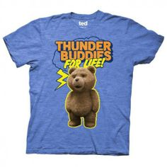 Ted+Thunder+Buddies+For+Life+T-Shirt