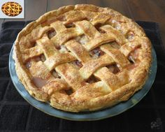 Apple Pie from Skyrim #Skyrim #VideoGames #VideoGameFood