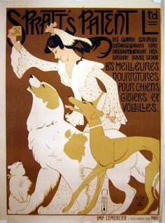 By August Roubille (1872-1933), c. 1908,  Spratt's Patent Ltd,Spratt's was a major British pet food produce.