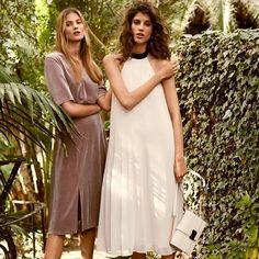 Disfruta de los  preciosos vestidos de fiesta de jardín de H & M