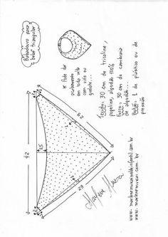 bibs bandana do bebe babadores Baby Bibs Patterns, Sewing Patterns For Kids, Sewing For Kids, Bandana Bib Pattern, Baby Sewing Projects, Baby Sewing Tutorials, Diy Projects, Diy Dress, Baby Crafts