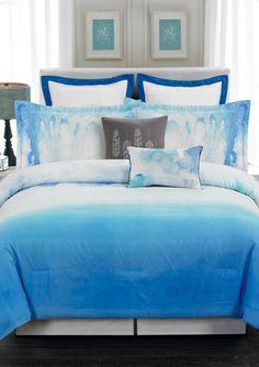 On ideeli: DUCK RIVER TEXTILES 8-Piece Sky Hotel Comforter Set