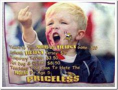 Minnesota Vikings Kid