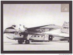 AVIONS - AVIATION - AIRPLANES - AIR CANADA SERIE AU FIL DES ANS - AVION CARGO BRISTOL   TRANS CANADA AIR LINES 18x13 Cm - 1946-....: Ere Moderne