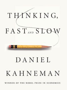 Thinking Fast and Slow  Legendary Israeli-American psychologist Daniel Kahneman is one of the most influential thinkers of our time. A Nobel laureate and founding father of modern behavioral economics, his work has shaped how we think about human error, risk, judgement, decision-making, happiness, and more. Source brain Pickings