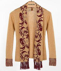 BKE Flyaway Cardigan Sweater via BUCKLE! Perfect to wear to games!
