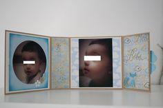 scrapbooking mini album a poser - bebe, baby