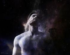 Universe - Pinned by Mak Khalaf Performing Arts astronomycosmosenergyexpressiongalaxyhumanmanpowdersplashstarsuniverse by peacefulwarior93